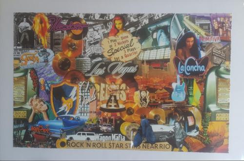 Based on the culture and life of many people in the 60's & 70's this piece takes you on a cool journey full of ROCK!