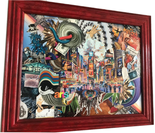 Awake is inspired by city life and the chaos of life. It has many hidden meaning and messages. I would love to hear what this piece says to you!